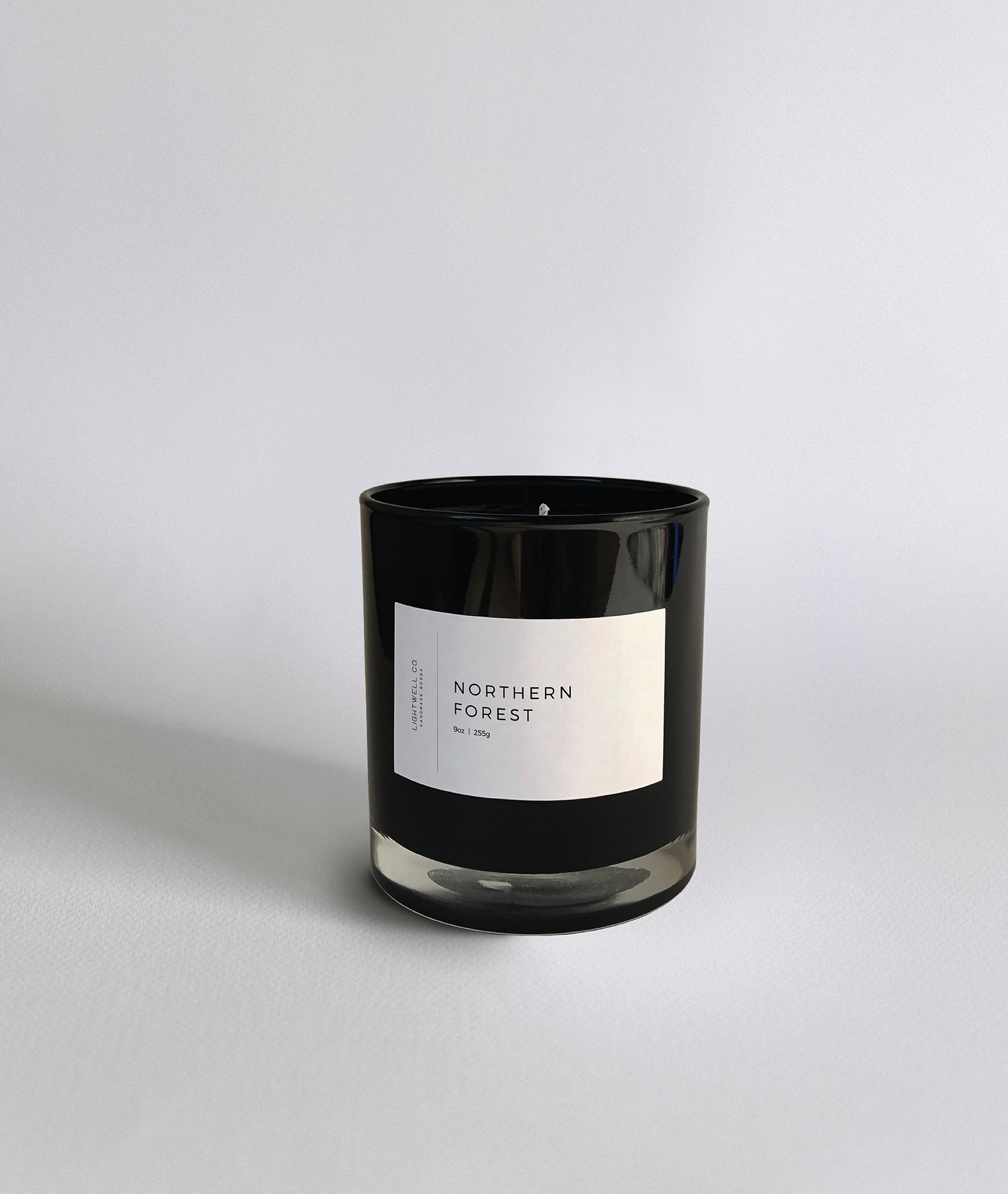 Northern Forest Black Tumbler
