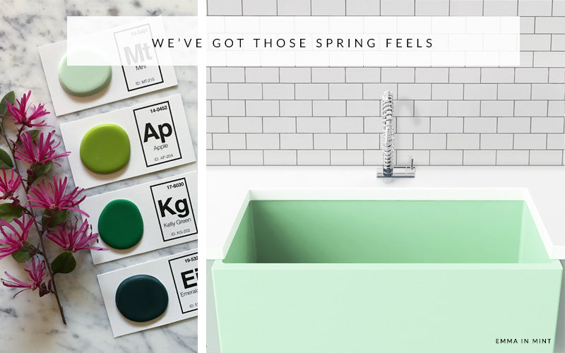 Refresh Your Space With Spring Greens