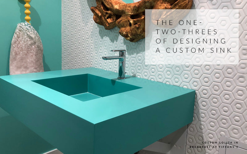 THE HOW TO'S ON CREATING A CUSTOM SINK