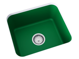 green undermount laundry sink