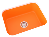 orange undermount kitchen sink