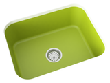 apple green undermount kitchen sink