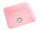 pink laundry sink