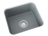 grey laundry sink