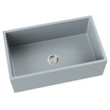 grey farmhouse kitchen sink