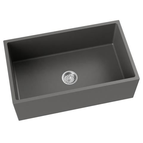 grey kitchen sink