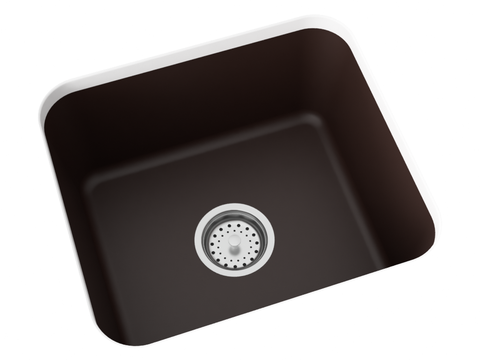 brown undermount laundry sink