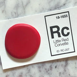red sink sample chip