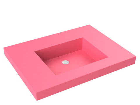 berry pink vanity top bathroom sink