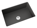grey blue small undermount bathroom sink