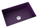 purple small undermount bathroom sink