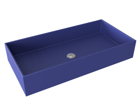 cobalt blue vessel wallmountable bathroom sink