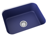 cobalt blue undermount kitchen sink