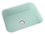teal silver sage laundry sink