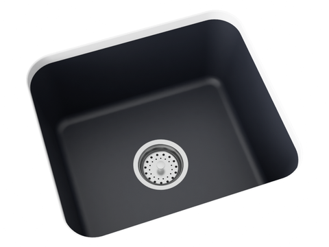 grey undermount laundry sink