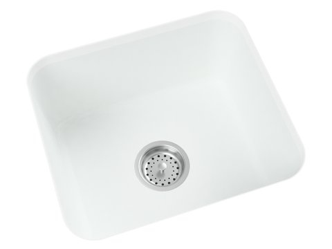 white undermount laundry sink