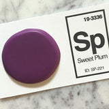 purple sink sample chip