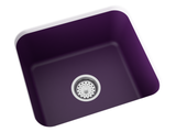 purple laundry sink