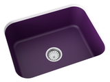 purple undermount kitchen sink