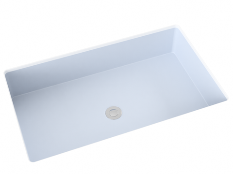 grey silver sage undermount bathroom sink
