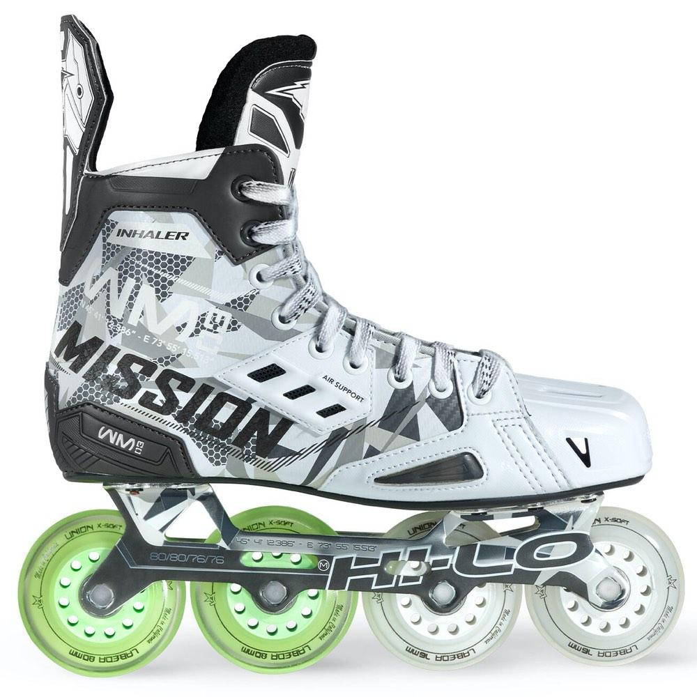 Patines Hockey Línea Mission Inhaler WM03 Sr.