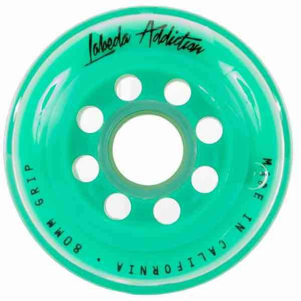 Rueda Labeda Addiction Verde XXX Grip.