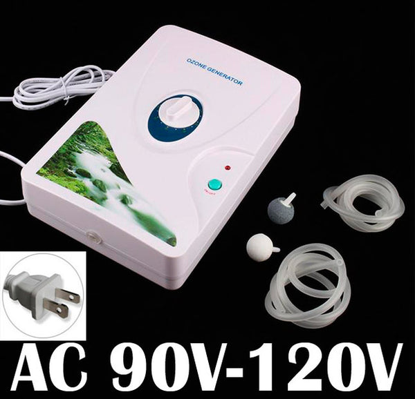High Quality 600mg/h 110V Ozone Generator Ozonator ionizer O3 Timer Air Purifiers Oil Vegetable Meat Fresh Purify Air Water