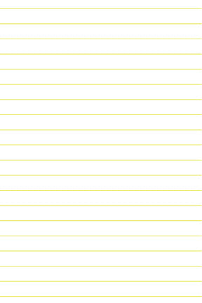 lined paper yellow