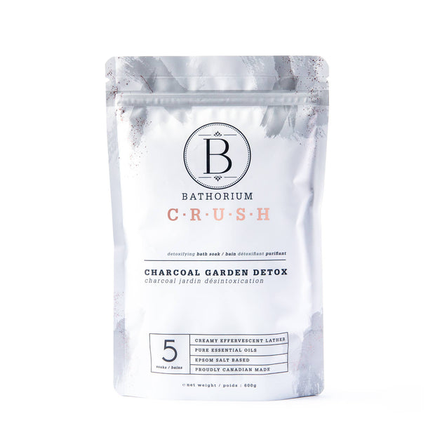 Charcoal Garden Detox Crush Bath Soak 600g