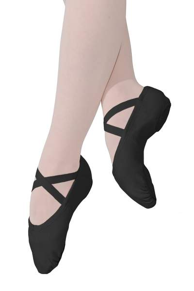 Stretch Canvas Ballet Slippers - Adult