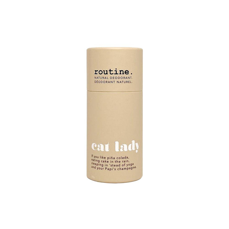 Routine Cat Lady Natural Deodorant Stick