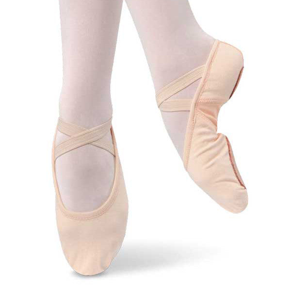 Stretch Canvas Ballet Slipper - Kids