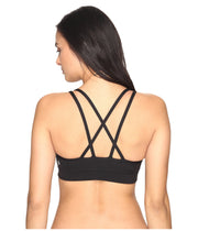 Cross Strap Bra