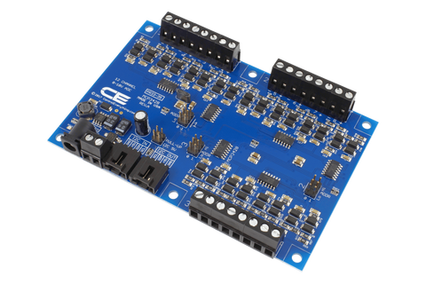 12-Channel I2C 0-10V Analog to Digital Converter