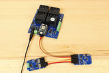 Particle Photon Potentiometer Relay Shield and Sensor