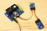 Particle Photon High Power Relay Shield and Digital Potentiometer
