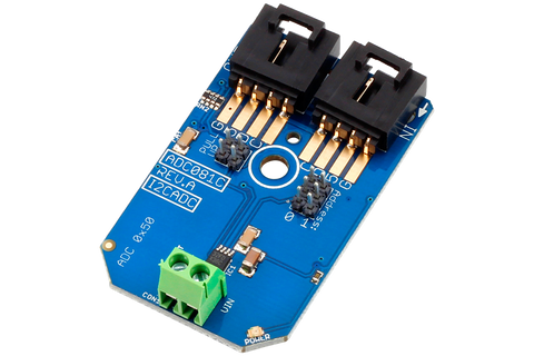 ADC081C Arduino Analog to Digital Converter