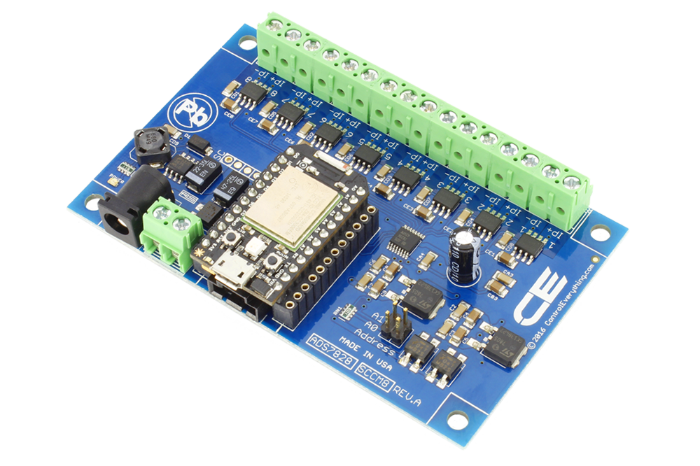 8-Channel DC Current Monitor for Particle Photon