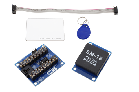 Arduino Micro RFID Receiver and I2C Adapter with UART Interface
