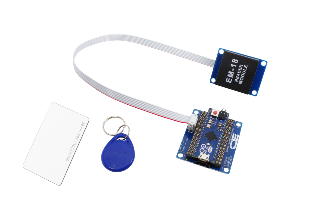 I2C Breakout for Arduino Micro with RFID Receiver and UART Interface