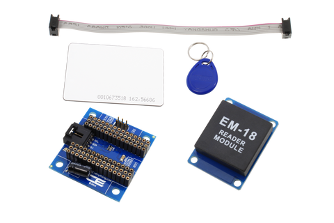 Arduino Nano RFID Receiver and I2C Adapter with UART Interface