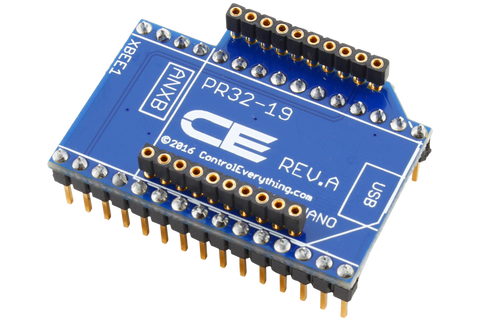 XBee Overlay Shield Adapter for Arduino Nano