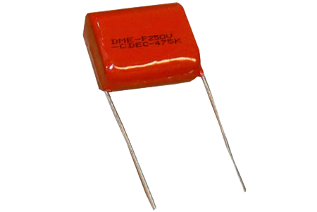.56uF 100VDC / 65VAC Polyester Film Capacitor