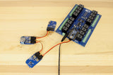 HIH6020 Humidity Sensor and Arduino Relay Shield with I2C Sensors