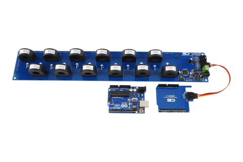 12-Channel On-Board AC Current Monitor for I2C