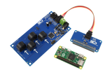 I2C Energy Monitoring for Raspberry Pi Zero 4-Channel 10-Amp Range