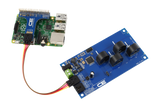 I2C Energy Monitoring for Raspberry Pi 3 4-Channel 15-Amp Range