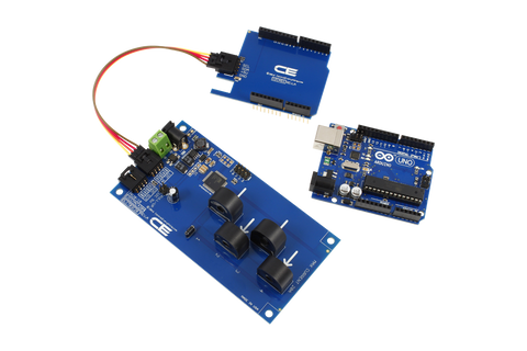4 channel on board ac current monitor for i2c i2c energy monitoring for arduino uno 4 channel 10 amp range asfbconference2016 Image collections