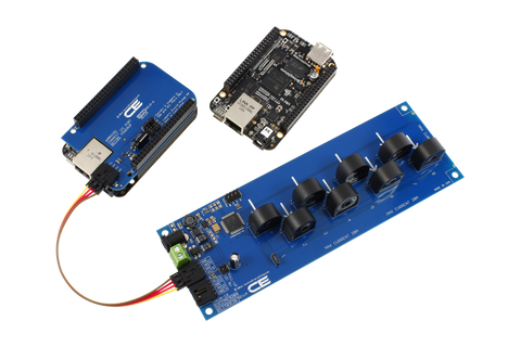 8-Channel On-Board AC Current Monitor for I2C