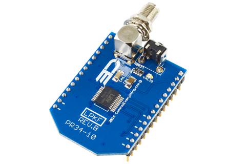 Key Fob Receiver Overlay Shield for WiPy2 & LoPy( LoRa)
